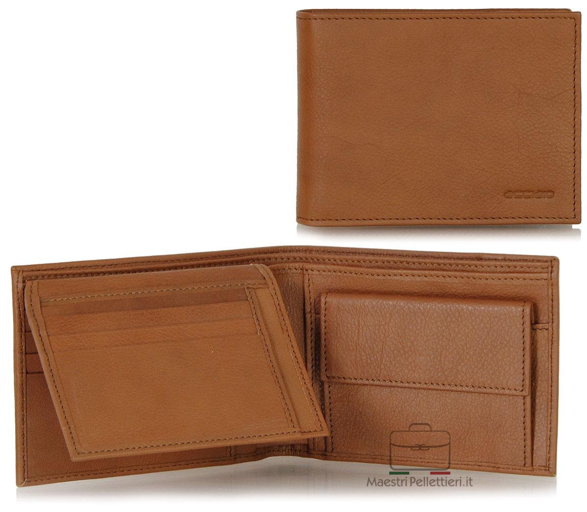 portafoglio da uomo con aletta | Acciaio