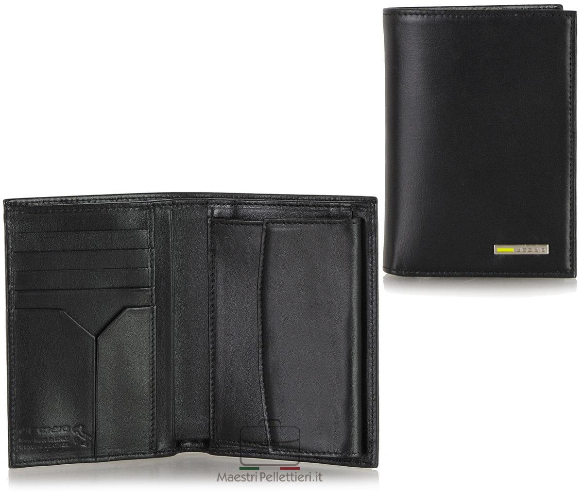 portafoglio verticale da uomo | Acciaio