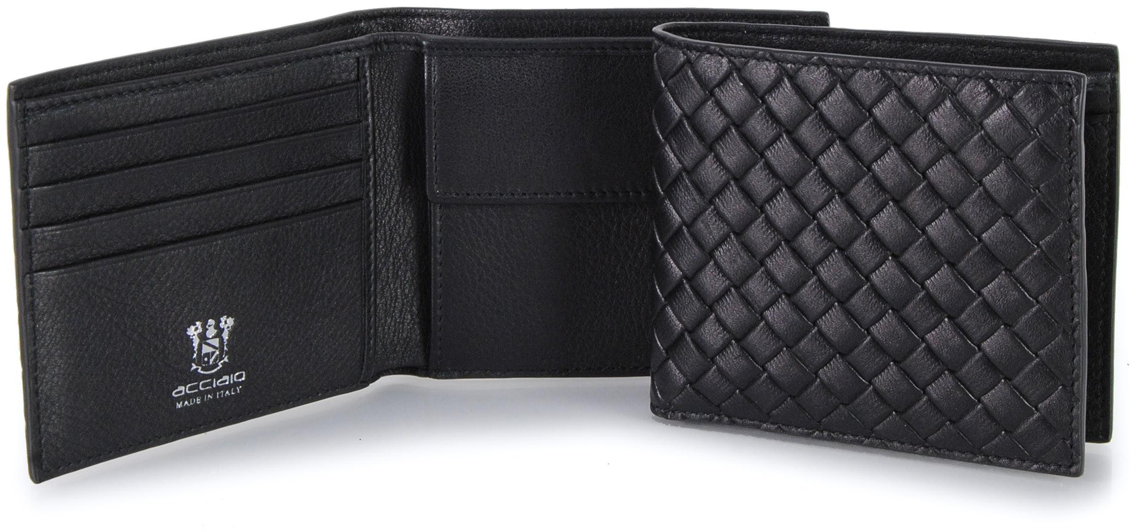 portafoglio uomo nero | Acciaio