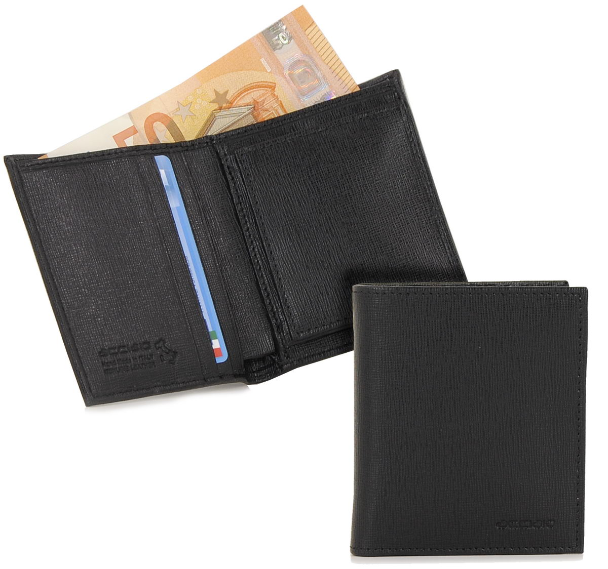 portafoglio uomo minimal