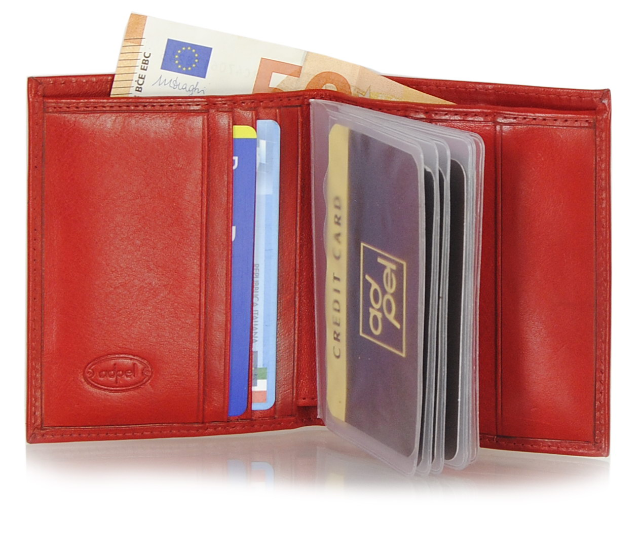 small wallet for many credit cards